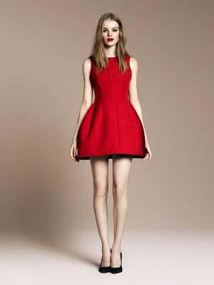 Модні червоні сукні 2014