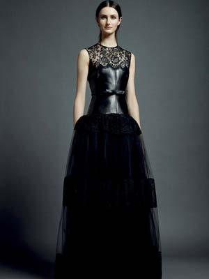 Модні чорні сукні 2014