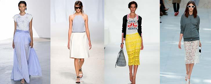 Модні спідниці на літо 2014