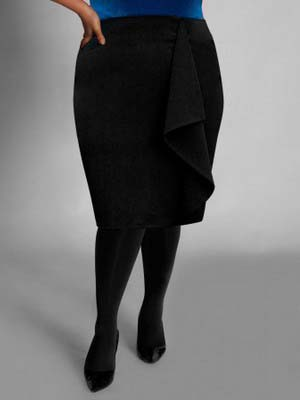 Модні спідниці для повних 2014