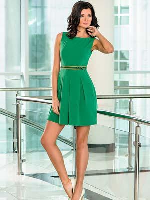 Модні зелені сукні 2014