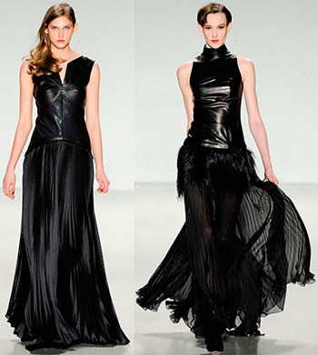 Чорні вечірні сукні 2014-2015