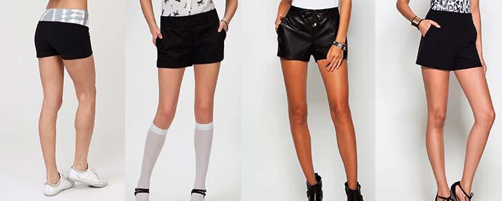 Чорні жіночі шорти 2014