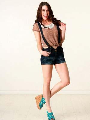 Модні джинсові шорти 2014