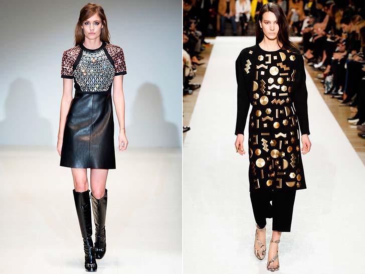 Модні сукні осінь-зима 2014-2015