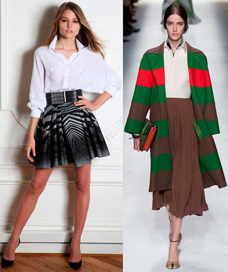Плісировані сукні 2014-2015