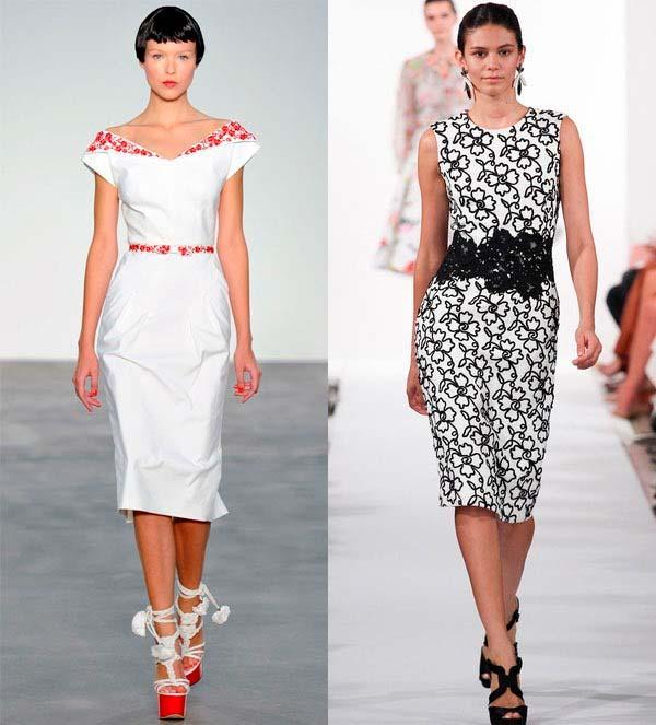 Модні офісні сукні 2014
