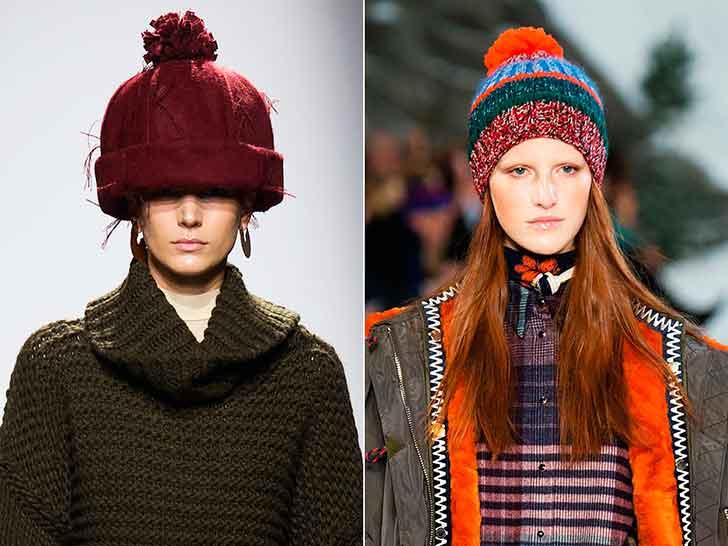 Модні шапки і головні убори осінь-зима 2014-2015