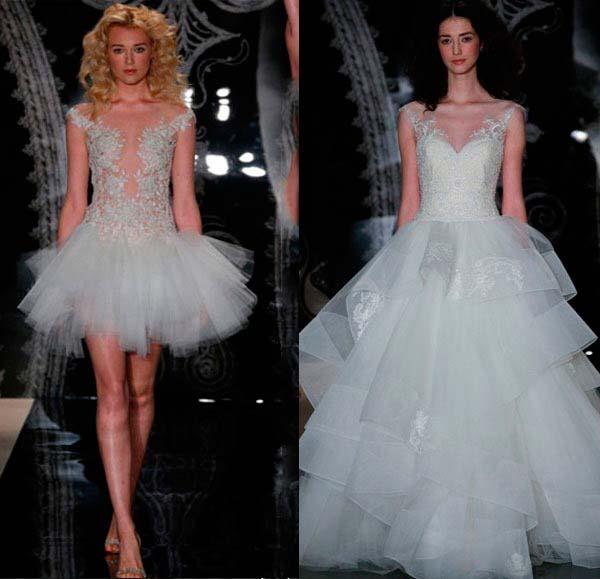 Модні весільні сукні 2014