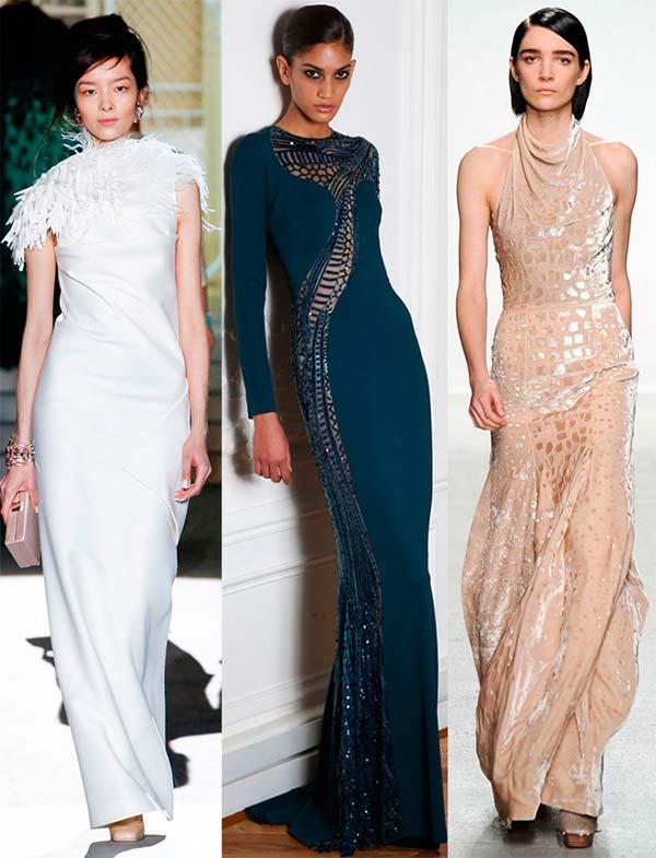 Вечірні сукні до підлоги осінь-зима 2014-2015