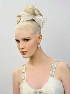 Весільні зачіски 2014