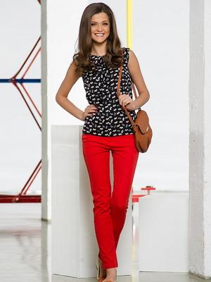 Червоні жіночі брюки 2014 Червоні жіночі брюки 2014 ... cfc2f1673f059