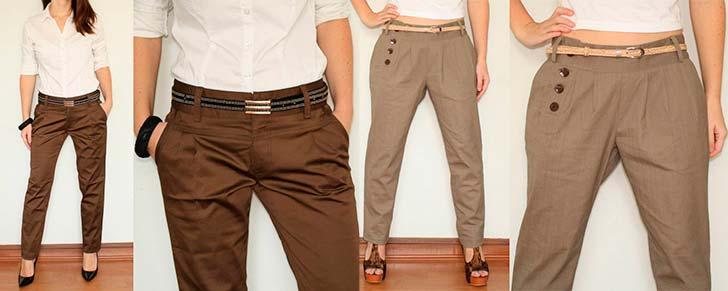 З чим носити жіночі брюки – Любов + Мода dd7bde81c96f7