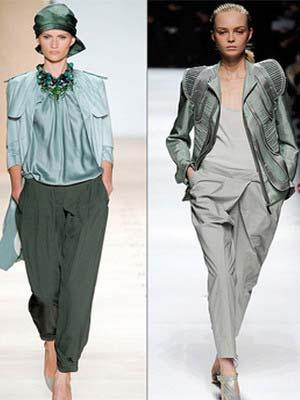Жіночі брюки-банани 2014