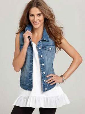 Как сделать джинсовую жилетку своими руками. - Женский журнал LadySpecial.ru : специально для женщин