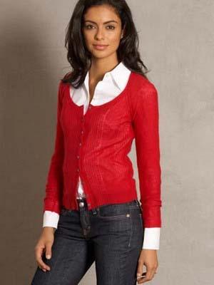З чим носити жіночий кардиган