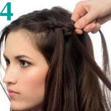 Зачіски з косами: майстер класи з фото