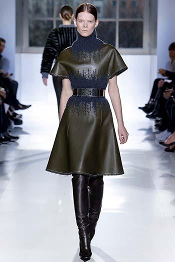Модні шкіряні сукні 2015