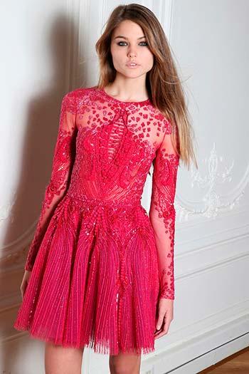 Рожеві і коралові сукні 2015