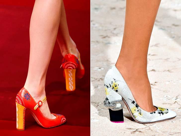 Модні туфлі весна-літо 2015