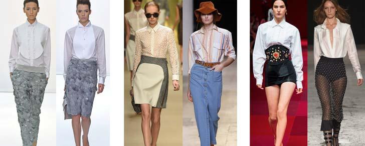 Блузки Мода 2015