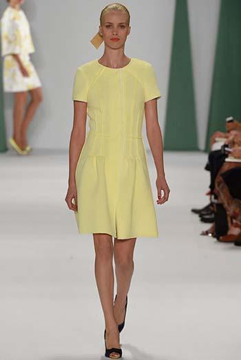 Помаранчеві і жовті сукні 2015