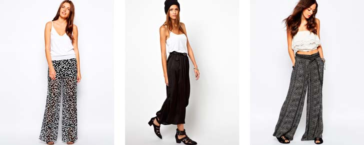 Широкі жіночі штани палаццо 171bd980f0860