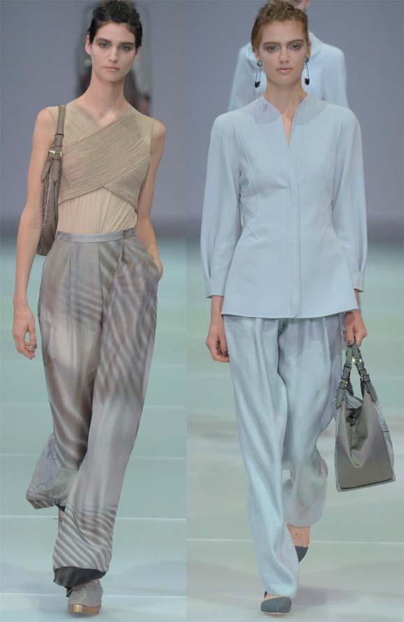 Широкі жіночі штани палаццо
