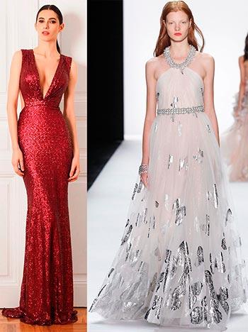 Блискучі сукні та інші образи 2016