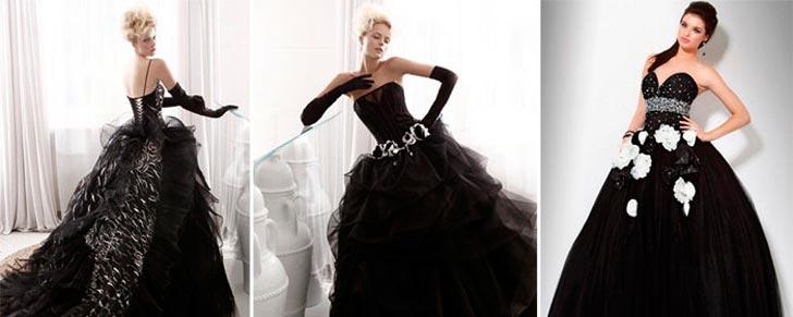 Чорні весільні плаття 2017 – Любов + Мода 7173897a012af