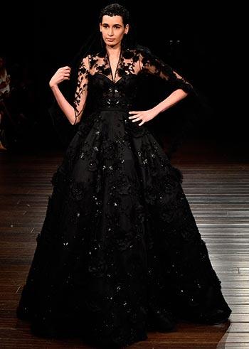 Чорні весільні плаття 2017
