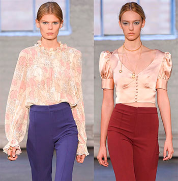Модні блузки і топи літо 2016