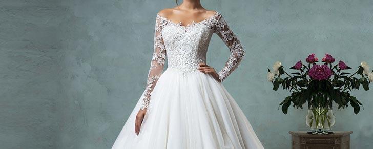 Весільні сукні з довгим рукавом 2017 – Любов + Мода f59454151db64