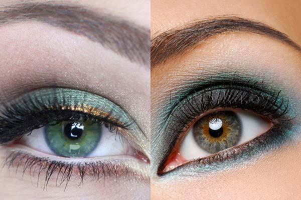 Який колір тіней до якого кольору очей підходить