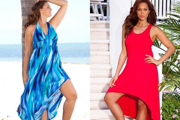 Літні сарафани 2017 для повних: модні тренди