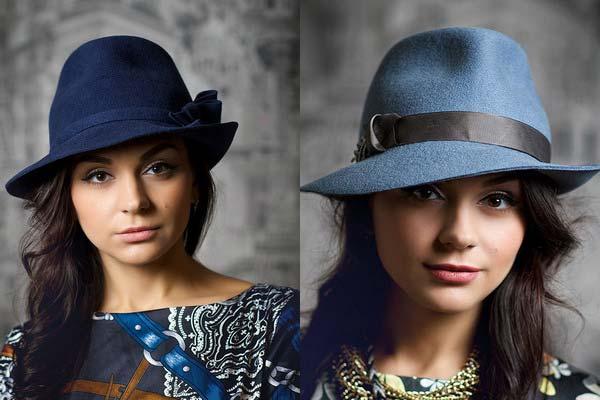 Модні жіночі капелюхи для зими 2017