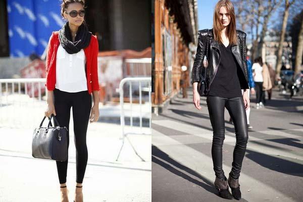 З чим носити легінси: секрети елегантності