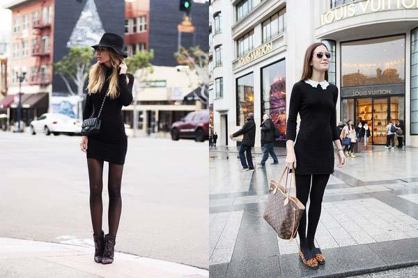 З чим одягнути чорну сукню: рекомендації стилістів