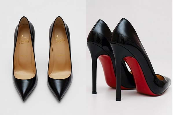 Туфлі-лабутени з чорною і червоною підошвою – Любов + Мода ... c3b1dd8ad21ff
