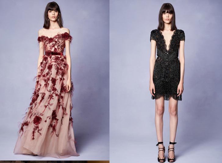 Красиві сукні на новий рік 2018 з об ємними спідницями дизайнери прикрасили  вишивкою 2201c2bf4f828
