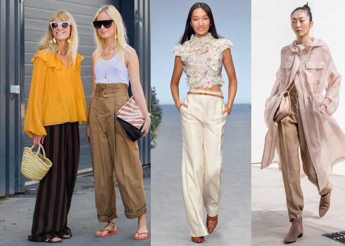 Модні штани весна-літо 2021